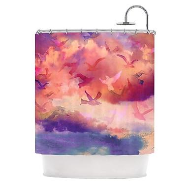 KESS InHouse Souffle Sky Shower Curtain