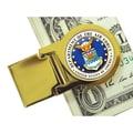 American Coin Treasure Goldtone Quarter; Air Force Washington
