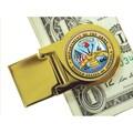 American Coin Treasure Goldtone Quarter; Army Washington