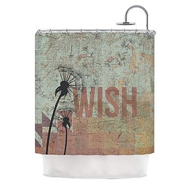 KESS InHouse Wish Shower Curtain