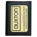Buxton Mountaineer ID Threefold Wallet; Black