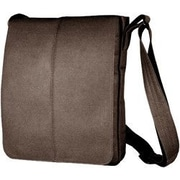 David King Messenger Bag; Caf  / Dark Brown