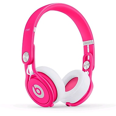 Beats™ Mixr™ Lightweight On-Ear DJ Headphones, Neon Pink