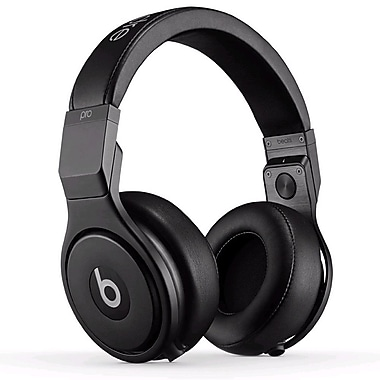 Beats™ Pro™ High-Performance On-Ear Studio Headphones, Infinite Black