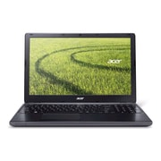 Acer® Aspire E1-522-3650 15.6 HD Notebook, AMD Quad-Core E2-3800 1.3 GHz, Clarinet Black