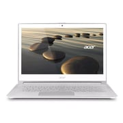Acer® Aspire S7-392-6484 13.3 Full HD Ultrabook, Intel Dual-Core i5-4200U 1.6 GHz, Crystal White