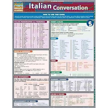 Italian Conversation (Quick Study Academic)