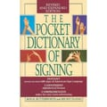 The Pocket Dictionary Of Signing Rod R. Butterworth, Mickey Flodin Paperback