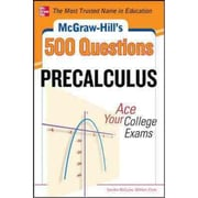 500 Precalculus Questions Sandra Luna McCune , William H. Clark Paperback