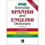 Everyday Spanish and English Dictionary Vox Paperback