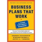 Business Plans That Work  Andrew Zacharakis , Stephen Spinelli , Jeffry Timmons Paperback