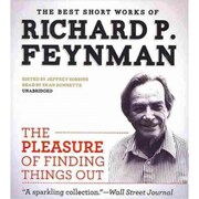The Pleasure of Finding Things Out Richard P. Feynman Audiobook CD