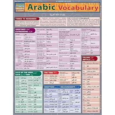 Arabic Vocabulary (Quickstudy: Academic)