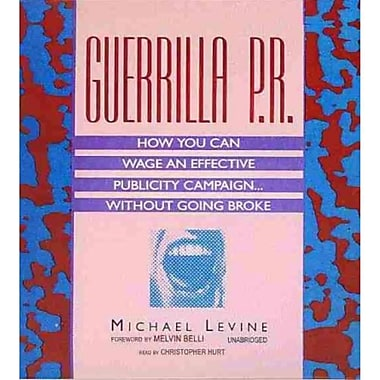 Guerrilla P.R. Michael Levine CD