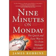 Nine Minutes on Monday James Robbins Hardcover