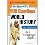McGraw-Hill's 500 World History Questions Jon Sterngass Paperback