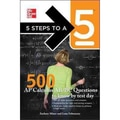 5 Steps to a 5 500 AP Calculus AB/BC Questions to Know by Test Day Zachary Miner,  Lena Folwaczny Paperback