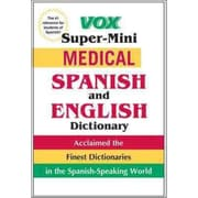 Vox Super-Mini Medical Spanish and English Dictionary Vox Paperback