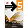 5 Steps To A 5 500 AP English Language Questions To Know By Test Day Paperback