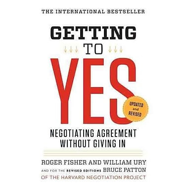 Getting To Yes Roger Fisher , William L. Ury , Bruce Patton Paperback, Used Book