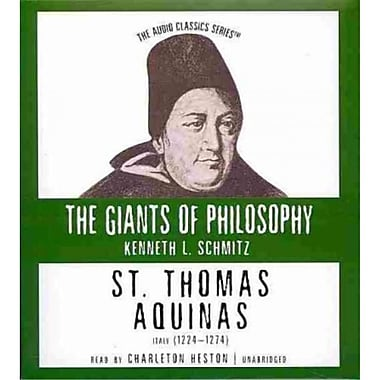 St. Thomas Aquinas Kenneth L. Schmitz CD