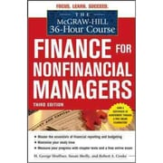 Finance for Non-Financial Managers  H. George Shoffner , Susan Shelly , Robert Cooke Paperback