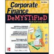 Corporate Finance Demystified Troy Adair Paperback