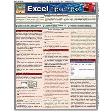Excel Tips & Tricks (Quickstudy: Computer)