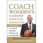 Coach Wooden's Leadership Game Plan for Success John Wooden, Steve Jamison Hardcover