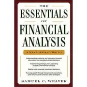 The Essentials of Financial Analysis Samuel Weaver Hardcover