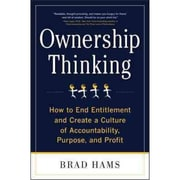 Ownership Thinking Brad Hams Hardcover