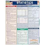 Statistics Laminate Reference Chart Inc. BarCharts Pamphlet