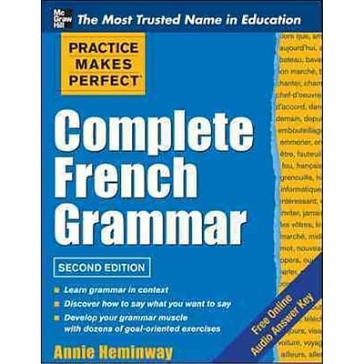 Practice Makes Perfect Complete French Grammar Annie Heminway Paperback 513149