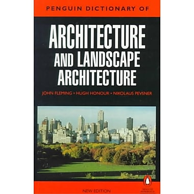 The Penguin Dictionary Of Architecture And Landscape Architecture Paperback | Staplesu00ae
