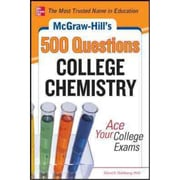 McGraw-Hill's 500 College Chemistry Questions David Goldberg Paperback