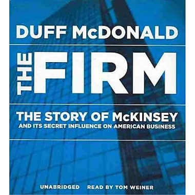 The Firm Duff McDonald CD