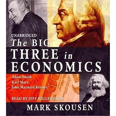 The Big Three in Economics Mark Skousen CD