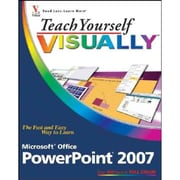 Teach Yourself VISUALLY Microsoft Office PowerPoint 2007 (Teach Yourself VISUALLY (Tech)) Paperback