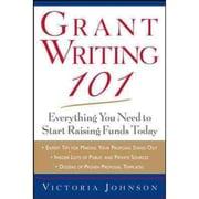 Grant Writing 101 Victoria Johnson Paperback