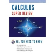 Calculus Super Review Editors of REA, Calculus Study Guides Paperback