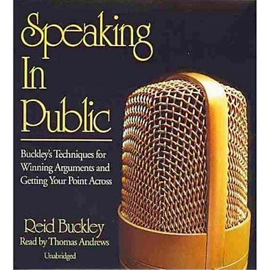 Speaking in Public Reid Buckley CD