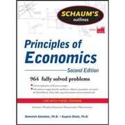 Schaum's Outline of Principles of Economics Dominick Salvatore, Eugene Diulio Paperback