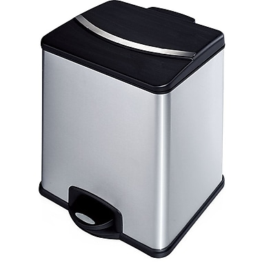 HQV 36L 2-Compartment Wastebasket / Recycling Bin