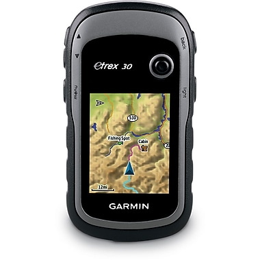 Garmin™ eTrex® 30 2.2in. Color Handheld GPS Navigator With 3 Axis Compass/Altimeter