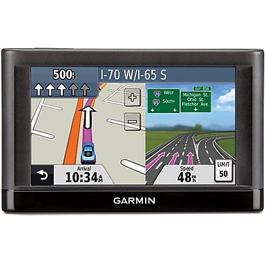 Garmin™ nuvi 44 4.3 GPS Navigator With U.S. Coverage  Canada/Lifetime Maps