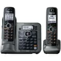 Panasonic® KX-TG7642M Link-2-Cell Bluetooth Convergence Phone W/2 Handset, 3050 Name/Number