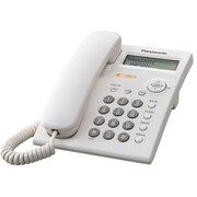 Panasonic® KX-TSC11 1 Line Corded Integrated Telephone System W/Caller ID, White