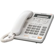 Panasonic® KX-TS620 1 Line Integrated Telephone System W/Digital Answering, 50 Name/Number, White