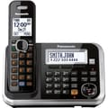 Panasonic® KX-TG6841B Expandable Digital Cordless Answering System W/1 Handset, 100 Name/Number