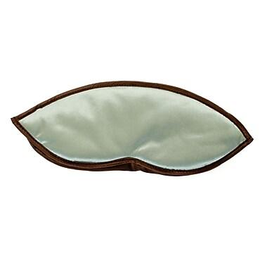Yala Travel Silk Eyeshades; Cielo/Chocolate